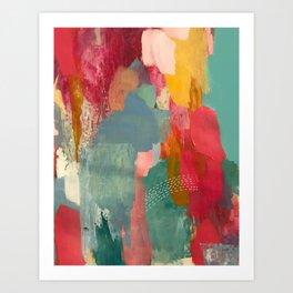 CLOUD COLOR Art Print