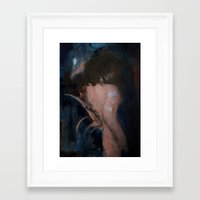 imagerybydianna Framed Art Prints featuring all hallow's eve  by Imagery by dianna