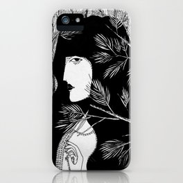 In the pines. iPhone Case