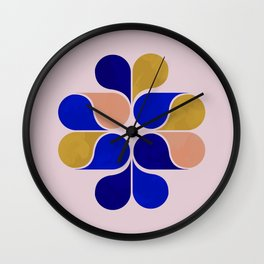 Tear drop shapes creation Wall Clock