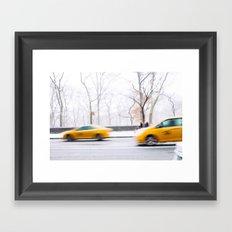 City Winter Framed Art Print