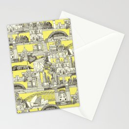AUSTRALIA toile de jouy Stationery Cards