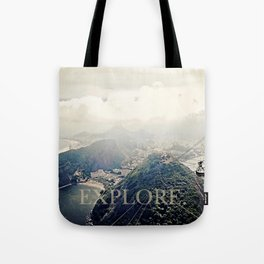 explore. Tote Bag