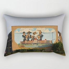 Hotel Punta Gorda Mural Rectangular Pillow