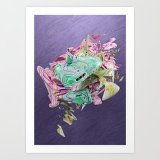 Colour Form & Expression #1 Art Print
