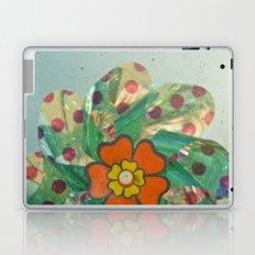 The Silver Flower Laptop & iPad Skin
