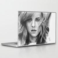 emma watson Laptop & iPad Skins featuring Emma Watson by xDontStopMeNow