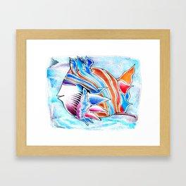 ButterflyFish Framed Art Print