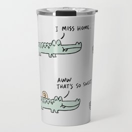 Mr. Croc: Miss Home Travel Mug