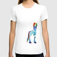 my little pony T-shirts featuring Rainbow Dash My Little Pony by Kaori
