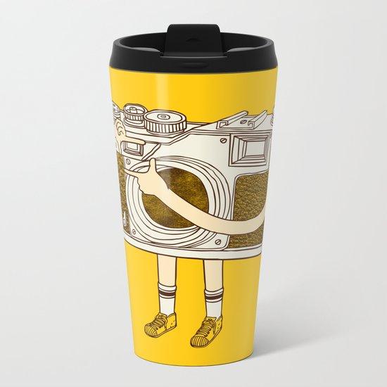 Photographer Metal Travel Mug