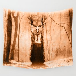 Dark Victorian Portrait Series: The Old Ways Wall Tapestry