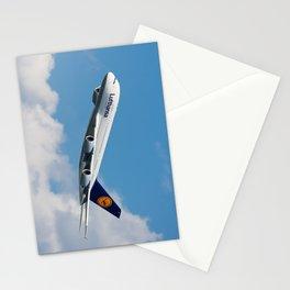 Lufthansa A380  Stationery Cards