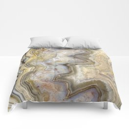 Jagged Agate Comforters
