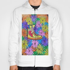 SNEAKER OF PEACE AND LOVE Hoody
