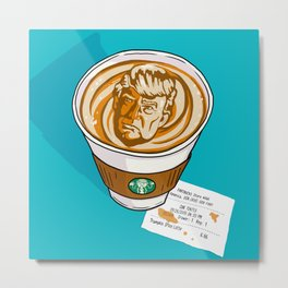 Trumpkin Spice Latte Metal Print