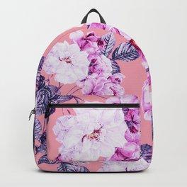 Flora temptation - sunset Backpack