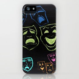 A Funny Tragedy At Night iPhone Case