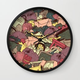 Hoarder Wall Clock