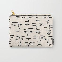 Stolen Faces Carry-All Pouch