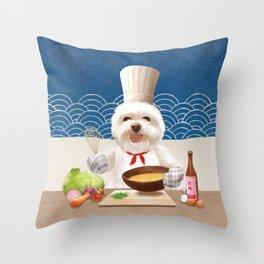 Little Chef Throw Pillow