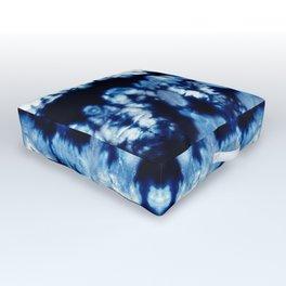 Tie-Dye Shibori Neue Outdoor Floor Cushion