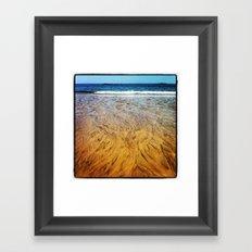 Washed Out Framed Art Print