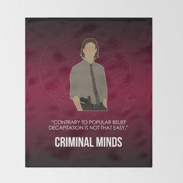 Criminal Minds - Reid Throw Blanket