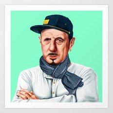 Hipstory -  Charles De Gaulle Art Print