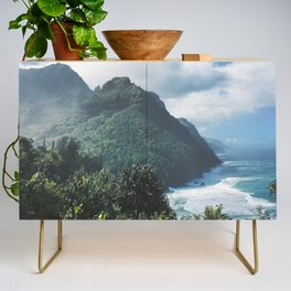 Na Pali Coast Kauai Hawaii Credenza