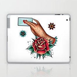 hand with a love letter Laptop & iPad Skin