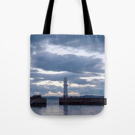 Newhaven Lighthouse Tote Bag