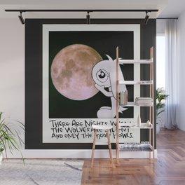 Howling Moon # Bob The Lop Wall Mural