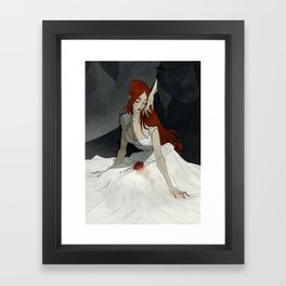 Stay Here With Me Framed Art Print