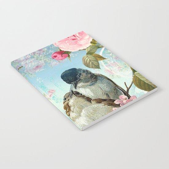 Dragonflies & bird Notebook