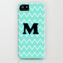 Letter M iPhone Case