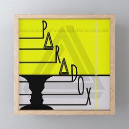 Paradox 5 Framed Mini Art Print