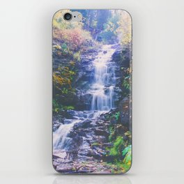 Cascading Stream - Autumn Colors in Vail, Colorado iPhone Skin