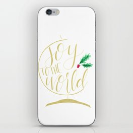 Joy to the World iPhone Skin