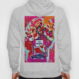 No 5 Pink Colored Hoody