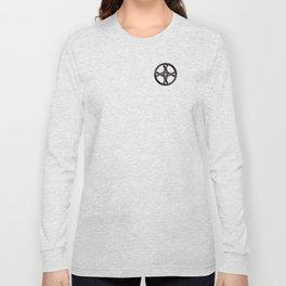 Celtic Knot Black Long Sleeve T-shirt