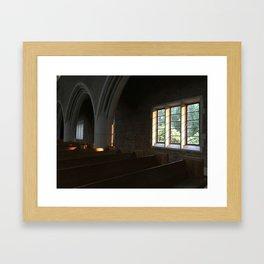 Tar Heel Cathedral Framed Art Print