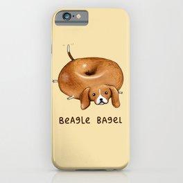 Beagle Bagel iPhone Case