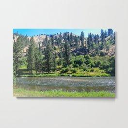 Payette River Scene ~ I Metal Print