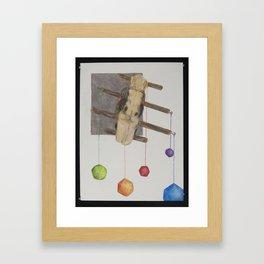 Rocking Die Framed Art Print
