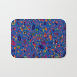 flower of my mind Bath Mat