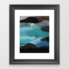 It's The Only Way Framed Art Print