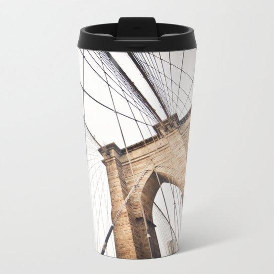 Brooklyn Bridge I Metal Travel Mug