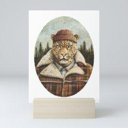 Lumberjack Mini Art Print