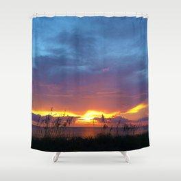 SUNSET I Shower Curtain